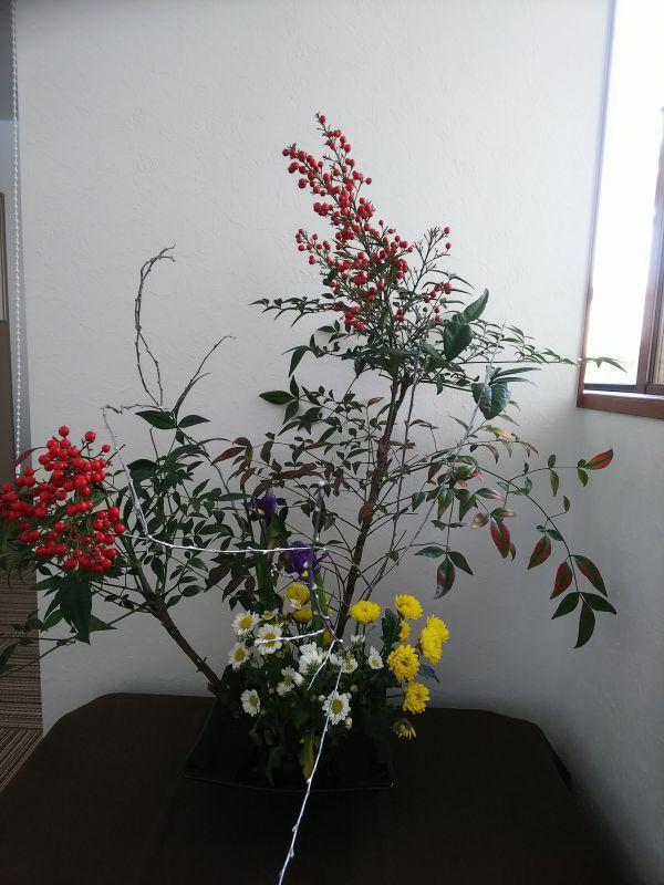 京都の右京区 吉本事務所の花